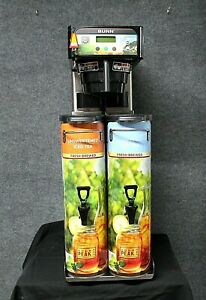 Bunn Itcb dv Infusion Coffee And Tea Brewer With 2 3 5 Gallon Dispensers