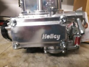 Holley 4160 600 Cfm 4 Barrel Carburetor Electric Choke