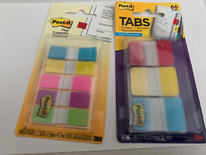 Post it Flags And Tabs Value Combo Assorted Pack Of 66 Tabs 100 Flags