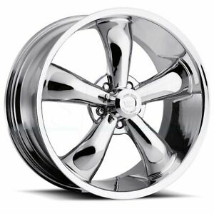 4 new 20 Vision 142 Legend 5 Wheels 20x8 5 20x9 5 5x115 10 12 Chrome Staggered