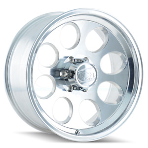 4 new 16 Ion 171 Wheels 16x10 5x135 38 Polished Rims