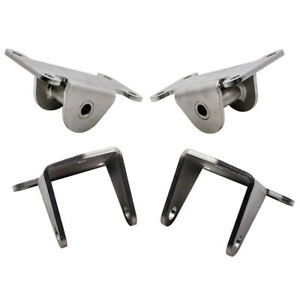 4pcs Set Of Front Engine Motor Mount Frame Mount For Chevy Sbc Small Block