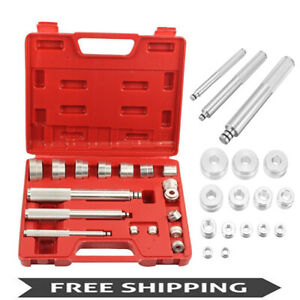 17pc Bushing Bearing Driver Installer Remover Axle Bushing Driver Set Aluminium