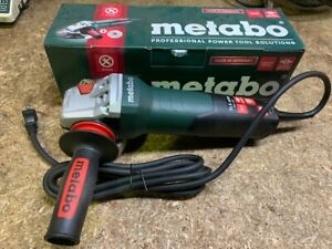Metabo 600410420 10 5 Amp 4 1 2 Angle Grinder With Non locking Paddle Switch w