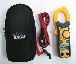 New Ideal Clamp pro 600 Aac Meter Cat Iii 61 744 W Case Leads Free Ship