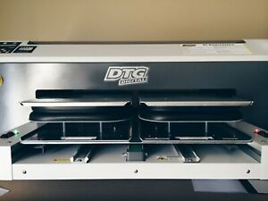 Dtg M2 Direct To Garment Printer Heat Press Platens Used Accessories