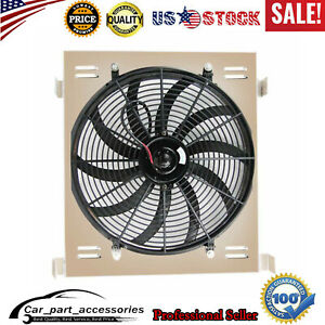 Aluminum Radiator Shroud fan Fit For 1930 1931 Ford Model A Grill Shelles Cpa