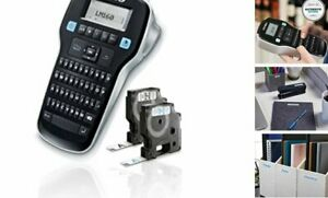 Dymo Label Maker With 2 D1 Dymo Label Tapes Labelmanager 160 Portable Label Ma