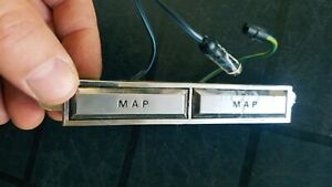 1967 1968 Mustang Upper Overhead Roof Console Switch Wiring Map Light For Parts