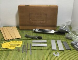Kingsley Hot Foil Machine Small Parts Box 3 Line 1 Line Type Holders Parts