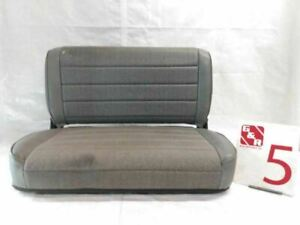 1993 Jeep Wrangler Rear Foldable Bench Seat Cloth Oem