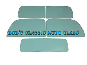 1937 1938 1939 Ford Truck Windows Classic Auto Glass New Vintage Antique Flat