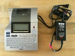 Brother P touch Pt 2700 Thermal Printer W Power Cable
