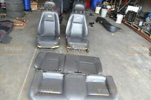 Cobalt Ss Supercharged Black Leather Front Bucket Seats Hot Rod Restomod