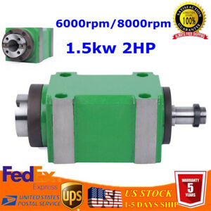 Spindle Unit Cnc Cutting Drilling Milling Power Head For Cnc Drilling Bt30 2hp