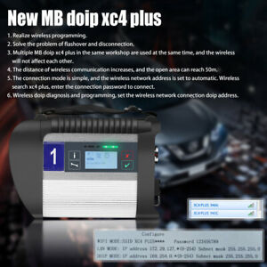 Mb Sd C4 Plus Star Obd2 Car Diagnosis Tool Support Doip Without Software