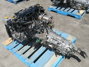 07 09 Subaru Legacy Spec B 2 0l Turbo Engine 6 Speed Transmission Ej255 Ej20y