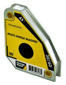 Strong Hand Tools Welding Magnet Square Ms350a Multi Angle 30 45 60 90