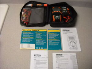 Extech Electrical Test Instrument Kit Troubleshooting Multimeter Continuity