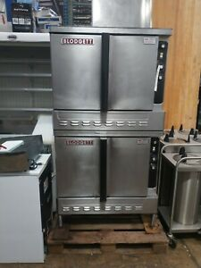 Blodgett Dfg 200 Double Full Size Commercial Convection Oven gas