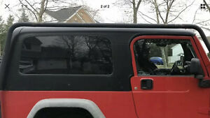 2004 2006 Jeep Wrangler Unlimited Hard Top Only