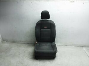 2012 12 Honda Civic Si Coupe Front Left Driver Seat Black Without Srs