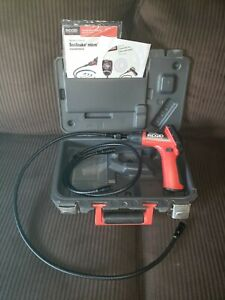 Ridgid Seesnake Micro Inspection Camera With Hard Case 36 Extension Bever Used