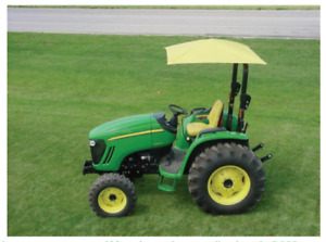 Femco Rops Jd Yellow Tractor Umbrella Canopy Canvas Cover Rollbar Mount 405969