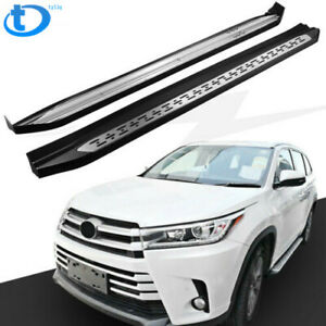 New Running Board Fit For Toyota Highlander Kluger 2014 2018 Side Step Nerf Bar