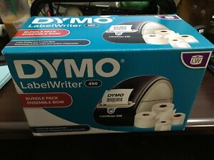 Dymo Labelwriter 450 Monochrome Direct Thermal Label Printer W Labels