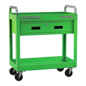 30 In Service Cart With Drawer Tool Storage Locking Steel