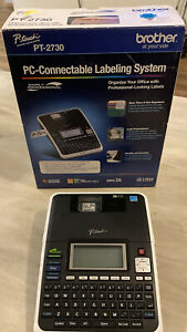 Brother P touch Pt 2730 Label Maker Labeling System Fast Free Shipping