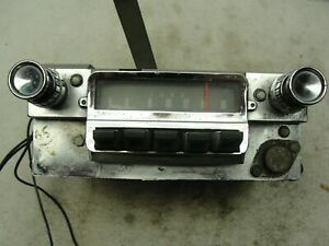 1964 1966 Ford Mustang In Dash Radio With Knobs 28 14675 8 1965 64