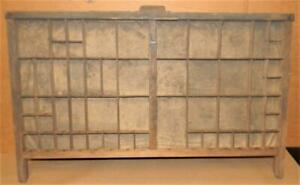 Letterpress Hamilton Border Cuts Case Print Type Drawer Shadowbox Ca14 12