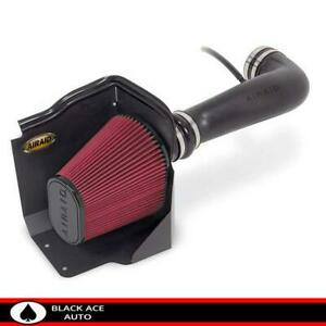 Airaid Cold Air Intake Red Dry Filter For Gm Truck 4 8 6 2l 09 14 W electric Fan