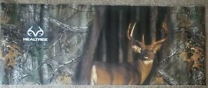 Whitetail Buck Deer Realtree Camo Tailgate Wrap Graphic Decal Pickup Truck
