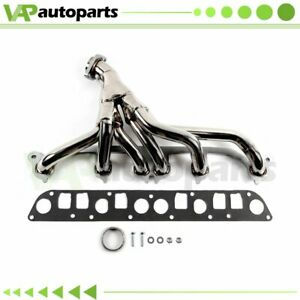 For 1991 99 Jeep Grand Cherokee Zj 4 0l 6cyl Stainless Exhaust Manifold Header
