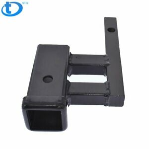 1 1 4 To 2 Trailer Hitch Receiver Rise drop Extender Extension Tow Adapter