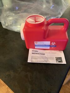 Pureway Sharps 1 2 Gallon Disposal System Single Container