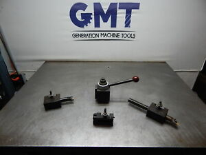 Phase Ii 250 333 Tool Post 3 Holders gmt 2454