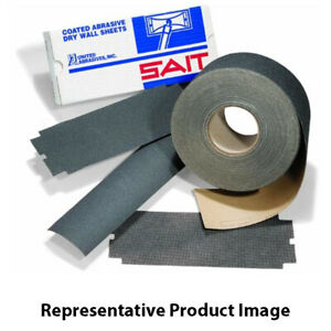 United Abrasives 84058 3 5 16 X 50 Yards Paper Dry Wall Sanding Rolls 120c Grit