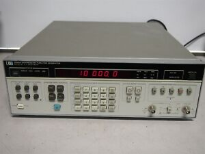 Hp 3325a Synthesizer Function Generator 1hz To 21mhz