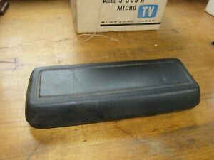 79 83 Mustang 5 0 Turbo Cobra Pace Car Gt Black Center Armrest Console Oem Ford