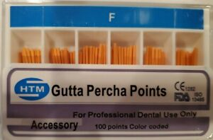 Gutta Percha Points Accessory Htm F Fine Box Of 120 Dental Root Canal