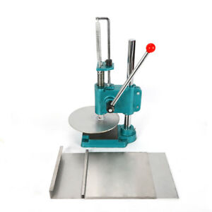 Manual Pastry Press Machines Stainless Steel 9 5 Cake Pizza Dough Bread Press