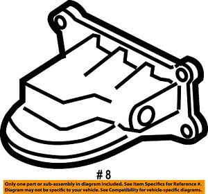Ford Oem Engine Parts Adapter Bs4z6881f