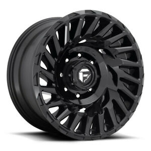 4 New 18 Fuel D682 Cyclone Wheels 18x9 6x135 1 Gloss Black Rims
