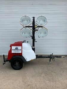 2016 Generac Mlt6s Mobile Light Tower 2970 Hours