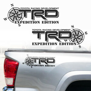 Trd Expedition Edition Toyota Truck Tacoma Tundra Off Road Sport Decals Sticker