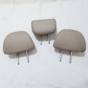 13 14 15 16 17 Honda Accord Sedan Oem Rear Headrest Tan Leather Set Of 3